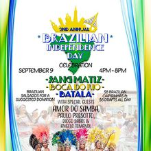 2nd Annual Brazilian Independence Day Celebration