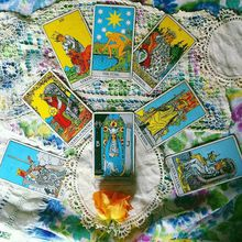 Erica Tanov: Tarot and Palm Readings with Matthew Drewry Baker