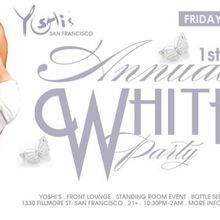 1st Annual White Party
