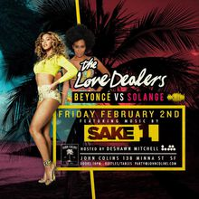 The Love Dealers Event: Dancing and Party Rocking feat DJ Sake 1