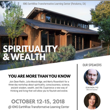 """Spirituality & Wealth"" 3-day workshop"