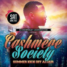 Cashmere Society Summer Kick Off Affair