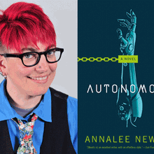 ANNALEE NEWITZ at Books Inc. Alameda