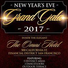 San Francisco NYE Grand Gala 2017 - Omni Hotel