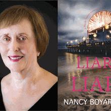 NANCY BOYARSKY at Books Inc. Palo Alto