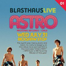 ASTRO (Live), Nacional Records, Chile