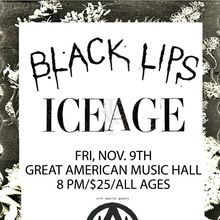 Black Lips / Iceage w/ Surfbort