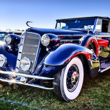 Ocean Avenue Antique Car Show