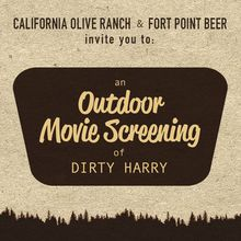 California Olive Ranch & Fort Point Movie Night