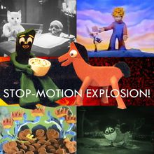 Stop-Motion Explosion!
