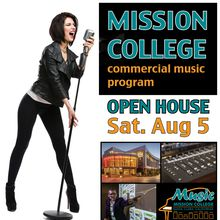 Mission College Commercial Music - OPEN HOUSE