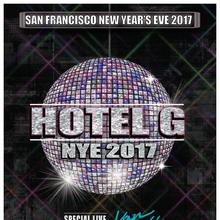San Francisco New Year's Eve 2017 at Hotel G