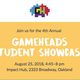 4th Annual Gameheads Student Showcase