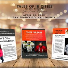 Tales of III Cities - Top Chef Live Food Showcase