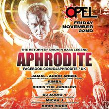The Return of Drum & Bass Legend Aphrodite