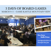Protospiel San Jose [3 Days Of Board Game Play Testing]