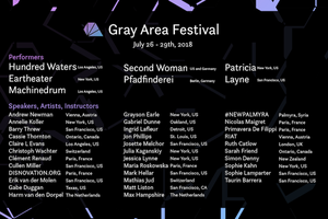 The Gray Area Festival 2018