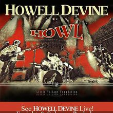"HowellDevine ""Howl""  CD Release Party and Liquid Light Show"
