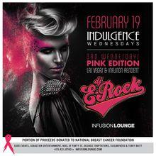 Indulgence Wednesdays | DJ E-Rock