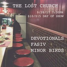 FASIV EP Release Party with Devotionals and Minor Birds - Private Parlor Show (($10 adv/$15 day of show))