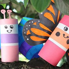 Creative Family Fun Craft: Marvelous Monarchs