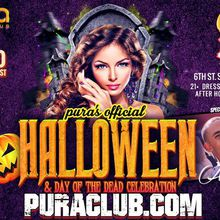 Pura's Official Halloween and Day of the Dead Celebration