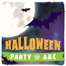 Halloween Party @ Artist & Craftsman Supply!