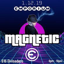 Emporium Arcade DJ Meikee Magnetic