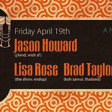 Suono: Jason Howard, Lisa Rose, Brad Taylor