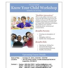 Know Your Child Workshop