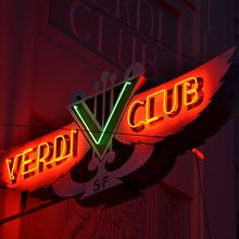 Live comedy at The Verdi Club