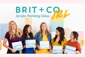 Brit + Co IRL: Acrylic Pain...