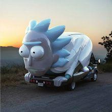 Rickmobile (Rick & Morty USA Tour) Bay Area Stops