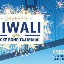 Celebrate Diwali with Brooke Bond Taj Mahal Tea and a spectacular Fireworks show over the San Francisco Bay!