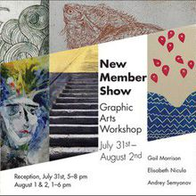 Graphic Arts Workshop New Members Show
