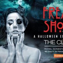 Welcome to the Freak Show! Halloween 2018 at the Clift Royal Sonesta Hotel