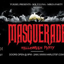 Free Masquerade Halloween Party with DJ Chris Clouse - Friday October 26th