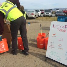 All One Ocean Clean-Up with Lush Cosmetics and Sports Basement