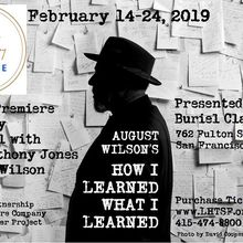 How I Learned What I Learned by August Wilson