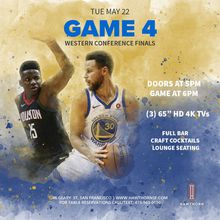 Warriors Watch Party - Game 4