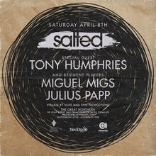 Salted with Tony Humphries