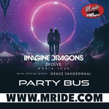 Imagine Dragons Shuttle Bus to Concord Pavilion
