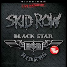 Skid Row & Black Star Riders Performing Live @ DNA Lounge