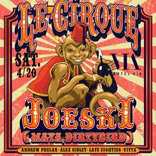 Le Cirque feat. Joeski (Maya, Dirtybird) - Hotel Via Rooftop