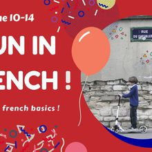 Summer Camp - June 10-14, 2019 : Fun in French
