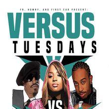 Hip hop versus RnB Tuesdays