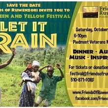 """Let It Rain"" Green & Yellow Festival"