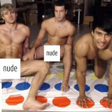 nude twister party!!! SF