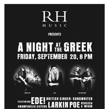A NIGHT AT THE GREEK
