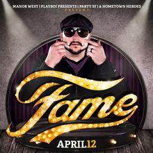 FAME SATURDAYS :: DJ SCOOTER